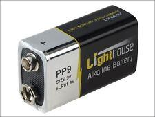 Lighthouse - Alkaline Batteries 9v LR61 1100mAh Pack of 1 - 6LR61