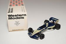 I WESTERN MODELS WM WRK37 1983 BRABHAM BT 52 F1 RACING CAR DARK BLUE MINT BOXED