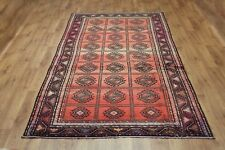 Traditional Vintage Wool Handmade Classic Oriental Area Rug Carpet 290 X 150 cm
