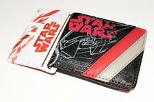 New Star Wars Empire Faux Leather ID Wallet Red and Black