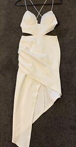 White Dress Size 6 Angel Biba