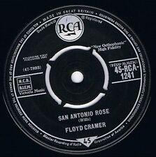 "FLOYD CRAMER San Antonio Rose 7"" Single Vinyl Record 45rpm RCA 1961"