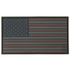 PVC Morale Patch - MAXPEDITION - US USA FLAG - STANDARD - STEALTH colors