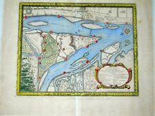 Landkarte Map Polen Gdansk Danzig Dantziger Hoeft Pufendorf 1697