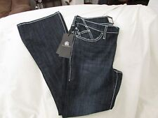 "Ladies ""Rock&Republic"" Size 12M, Blue, Slim, MidRise,Bootcut, 'Kasandra' Jeans"