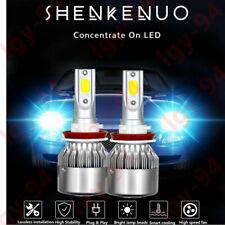 2PCS Universal 100W H11H9H8 High Power 8000K ICE BLUE LED Fog Light Driving Bulb