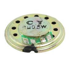 8 Ohm 0.5W 20mm Dia. Round Slim Internal Magnet Speaker for Toys K8D7