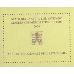 Coffret BU 2 euro Vatican 2009 Astronomie NEUF