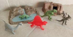 Vintage Marx Dinosaurs Playset