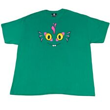 Blizzard World of Warcraft Cataclysm Murloc Face Green T-Shirt Size 2XL