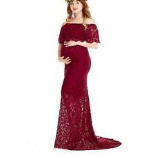 Maternity Photography Pregnant Robe Maxi Dress Women Long Dress for Baby Shower