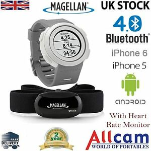 Magellan Echo Fitness Sports Watch Heart Rate Monitor Gray for iPhone & Android