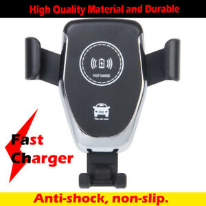 Wireless Mobile Charging Holder QI Fast Charger Hand-free Call Anti-slippery