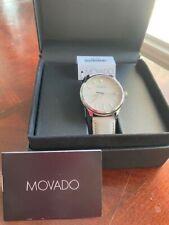 Movado Heritage Quartz Parchment Dial Men's Watch 3650063