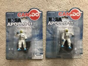 NASA Apollo 11 Astronaut Figure - SET Of 2 - Dragon CanDo Series