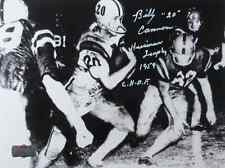"""Billy Cannon Autographed/Signed Lsu Tigers Iconic B&W 8x10 Photo """"Heisman-Chof"""""""