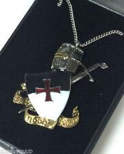 Knights Templar Collectable Masonic Cufflinks, Studs & Lapel Pins