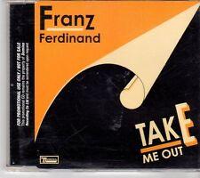(EX847) Franz Ferdinand, Take Me Out - 2003 DJ CD