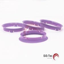 4/x Bague de Centrage 64,0/sur 60.1/Mauve//Violet
