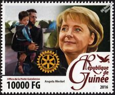 ANGELA MERKEL (Chancellor of Germany) Rotary Club International Rotarian Stamp