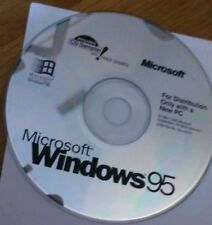 Microsoft Windows Win 95 With USB Support CD Software OS Operating System