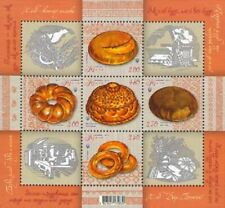 2013 Ukraine Cultures & Ethnicities Gastronomy National Bread Mnh