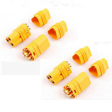 2pairs High Current MT60 Socket 3.5 mm ESC Brushless Motor Connector fr ESC Lipo