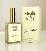 Vanilla Musk / Vanilla & Musk 1.7 FL OZ / 50 ML Eau De Parfum Spray NIB Sealed