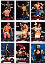 2011 Topps WWE 110 Card Set & 100 Cards Insert Sets CM Punk John Cena Undertaker