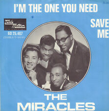 "MIRACLES, THE ‎–  I'm The One You Need  (1966 MOTOWN VINYL SINGLE 7"" HOLLAND)"
