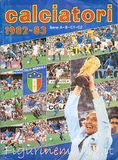 Mancolista figurine Calciatori Panini 1982/83 82/83 recuperate rec