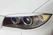 BMW 1 e87 e88 e81 e82  eyebrows Genuine ABS plastic NEW headlights spoiler, lids