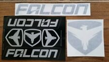 FALCON SHOCKS RACING STICKERS DECAL die cut LOT