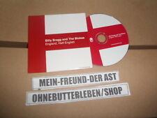 CD Indie Billy Bragg - England, Half English (12 Song) Promo COOKING VINYL