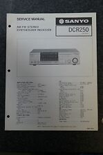 Sanyo DCR250 Service Manual