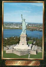 Statue of Liberty National Monument, New York City Harbor, Manhattan -- Postcard