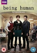 BEING HUMAN - THE COMPLETE FIFTH SERIES DVD - NEW - SEALED 3DVD