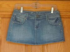 C'est Toi Ladies Size M Blue Denim Mini Skirt