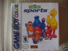 Sesame Street Sports (Game Boy Color) NEW SUPER RARE