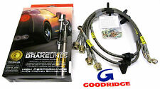 Goodridge Stainless Steel Brake Lines Integra 94-01 civic 92-95 Front & Rear