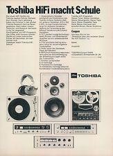 Toshiba-HiFi-Sound - 1970-publicidad-publicidad-vintage Print ad-vintage aragonesa