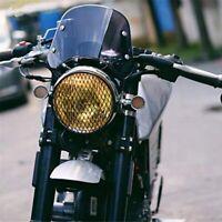 Motorrad Scheinwerfer Verkleidung Wind Schutz Scheibe Windschutz Scheibe Ko J3Z9