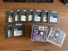 ZIP 100 Discs Disketten, gebraucht 9  Stk rare vintage Iomega MAC100