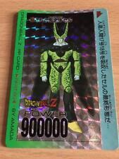 Carte Dragon Ball Z DBZ PP Card Part 20 #845 Prisme (Version Hard) AMADA 1993