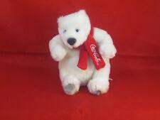 "Coca Cola Polar Bear w/scarf 7"" Plush Brainstorm Yesse Toy"