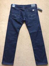"REPLAY LENRICK Stretch Regular Slim Fit Men's Blue Jeans, W36"" / L32"", £125"