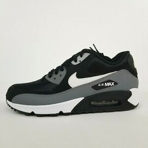 Nike Air Max 90 Essential Black White Cool Grey AJ1285-018 New Mens Shoes No Lid