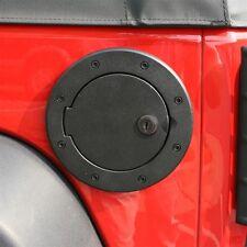 Jeep Wrangler Jk 2007 to 2017 Black Aluminum Locking Fuel Door  X 11425.06