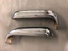 New listing MERCEDES 230 250 280 SL W113 REAR BUMPER  RIGHT+LEFT 230SL 250SL 280SL PAGODA