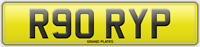 R90 RYP NUMBER PLATE RORY P REGISTRATION ASSIGNED OR DELIVERED RORY'S REG NO FEE